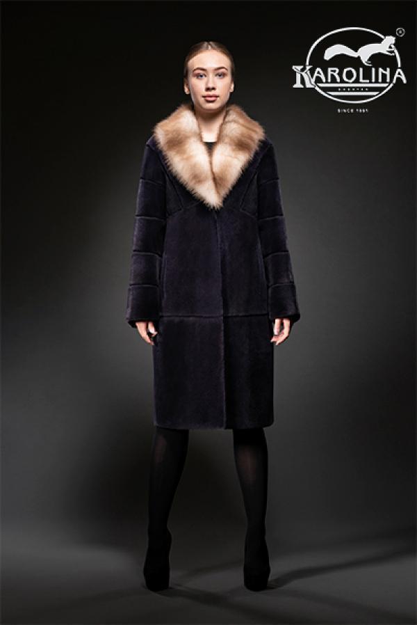 Пальто из нутрии Н-1034