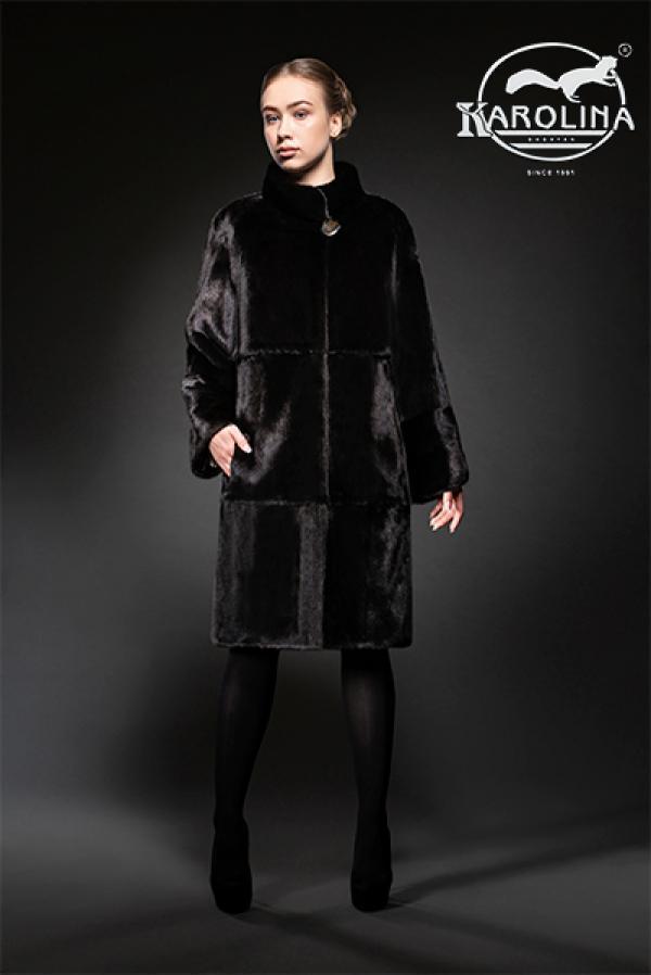 Пальто из норки НК-396В